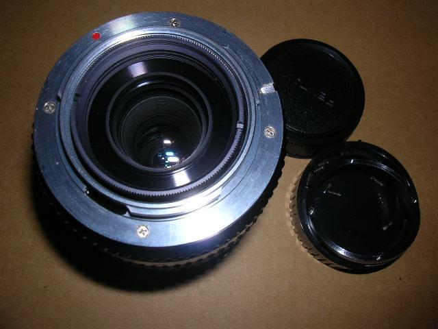 Minolta 250mm f5.6 反射鏡 MD改PK!