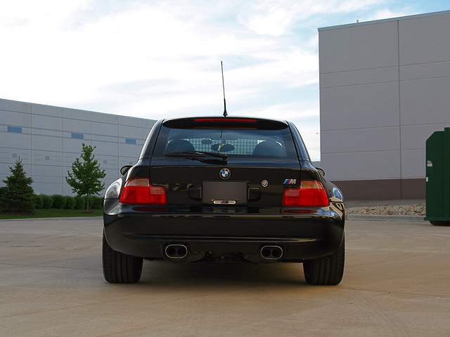 BMW M Coupe with AC Schnitzer Exhaust