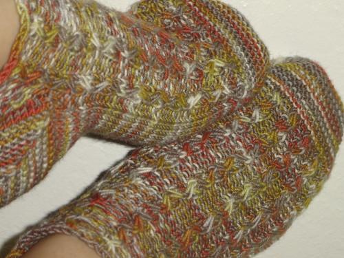 Solstice Slip socks Bag Lady