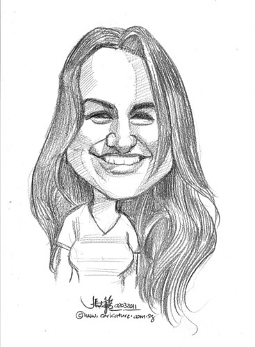 caricature in pencil - 5