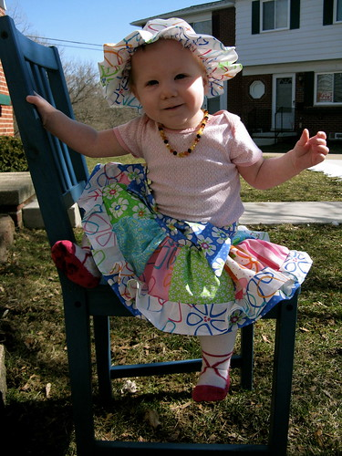 Caroline May's Little Girl's Patchwork Skirt