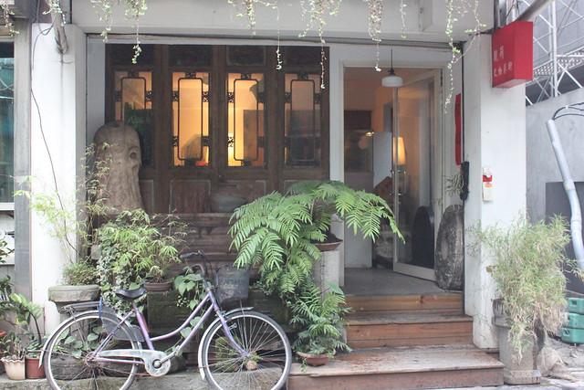 Anticuario en Yongkang street