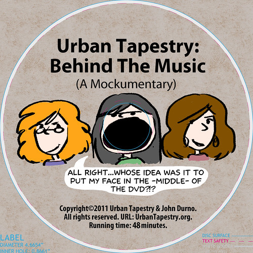 Urban Tapestry Mockumentary DVD layout