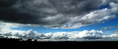 will it rain? (Helen Marie Brown) Tags: nature rain clouds landscape cloudscape stratocumulus justclouds