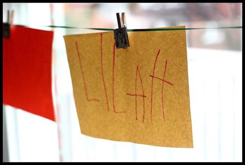 Lilah's name...