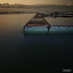 the murky depths (images-by-TLP) Tags: beach pool sunrise coast bath coastline squarecrop coledale oceanpool timlashbrookphotography wwwtimlashbrookphotographycomau