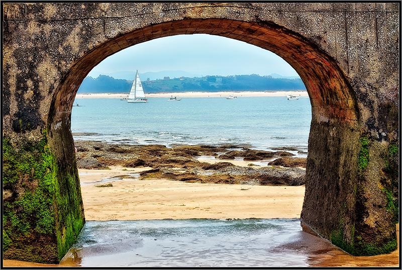 Enmarcando la bahía de Santander