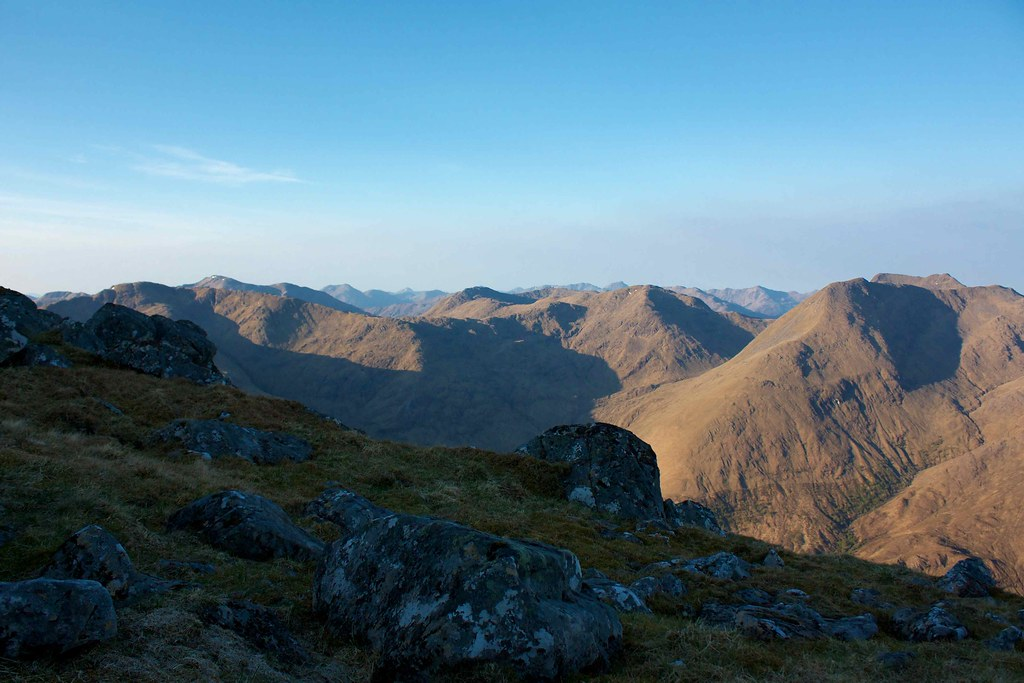 Early morning on the South Shiel Ridge