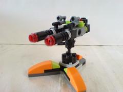 Maelstrom Mech turret (Kingmarshy) Tags: lego universe mech maelstrom moc