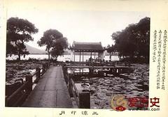 """【组图】民国带注释的""""西湖十景"""""""