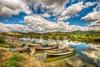 Cloud show (Nejdet Duzen) Tags: trip travel reflection nature turkey river boat cloudy türkiye kanal sandal yansıma turkei seyahat aydın doğa söke bulutlu bafagölü bafalake serçinköyü ilobsterit serçinvillage