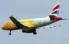 G-EUPC (GH@BHD) Tags: aircraft aviation airbus olympics britishairways firefly airliner london2012 a319 speedbird logojet belfastcityairport geupc