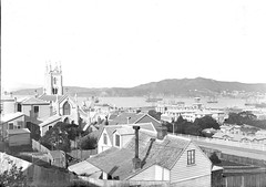 1; Saint Mary's Roman Catholic Cathedral, Hill Street, Thorndon - Circa 1890 (Wellington City Council) Tags: wellington historicwellington 1800s 1900s 1950s