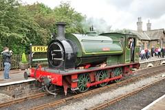 Beatrice at Embsay (Alun EH) Tags: railways railway railroad embsayboltonabbeysteamrailway ydr yorkshiredalesrailway beatrice hunslet 2705 ncb nationalcoalboard