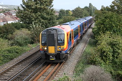 South West Trains 450 021 (Bristol MW Driver) Tags: portchester canoneos1ds southwesttrains 450021