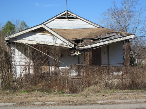 A house in the Lower Ninth Ward