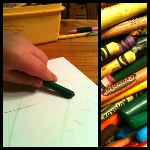 33:365 Crayon dippy