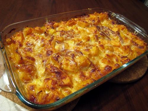 ... and butternut sweet potato and butternut sweet potato kale gratin