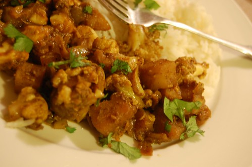 Aloo Gobi - Spiced Cauliflower and Potatoes