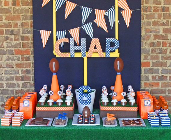 Football Party Printable Pack