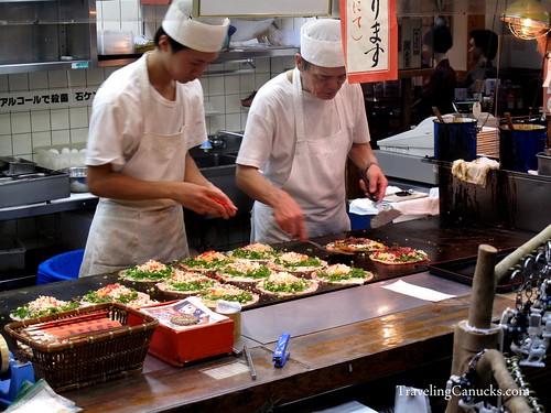 Japanese Food in Kyoto, Japan