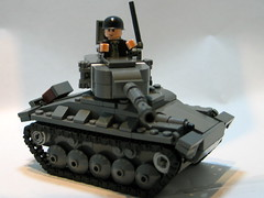 M24 Chaffee Light Tank V2 ([DustyBricks]) Tags: tank lego wwii ardennes stuart v2 koreanwar chaffee lighttank m5m3