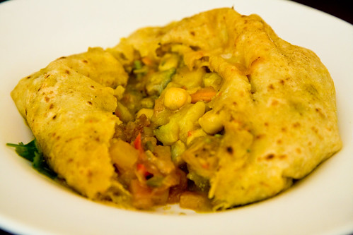Vegetable roti, Dajeh