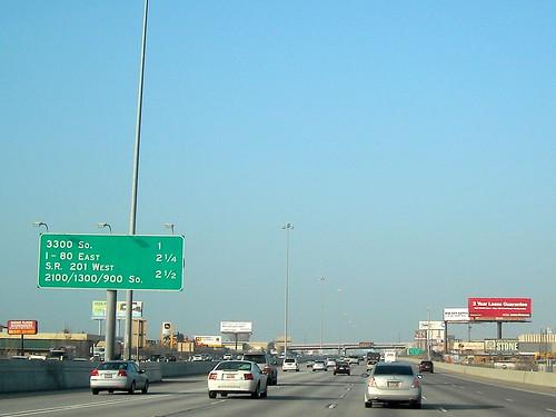 sign utah 15 freeway interstate bgs biggreensign i