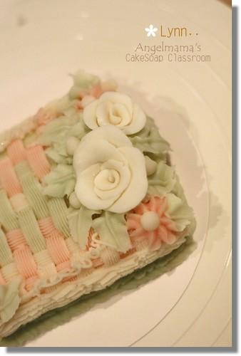 天使媽媽蛋糕皂教學Lynn4