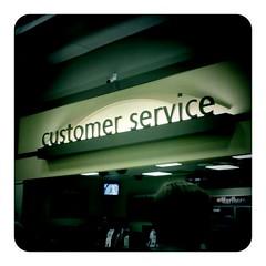 Customer Service By nffcnnr on flickr