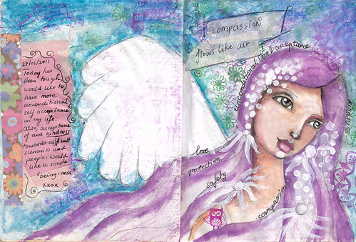 Art Journal 2011 - angel exploration