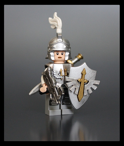 Custom minifig Shield Maiden custom minifig