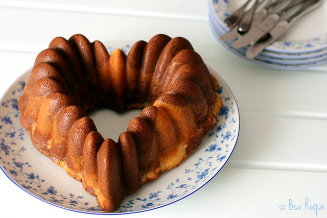 Orange & Choco Marble Bundt Cake