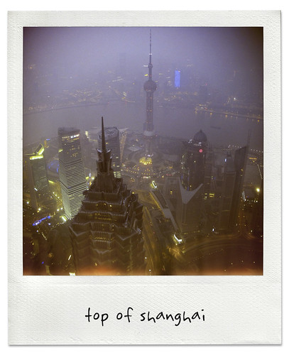 top of shanghai