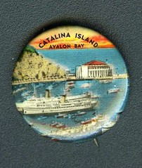 AVALON BAY AT CATALINA ISLAND, CALIFORNIA (THE ENIGMATIC TRAVELER) Tags: california ohio arizona usa newyork newmexico water strange sailboat southdakota children virginia boat weird utah washington colorado montana pin unitedstates lasvegas pennsylvania antique dam indian tag nevada maine stlouis newhampshire fair souvenir event exposition german button cave hudson states collectible caverns worldsfair pinback buffalobill newyorkworldsfair raodsideattraction