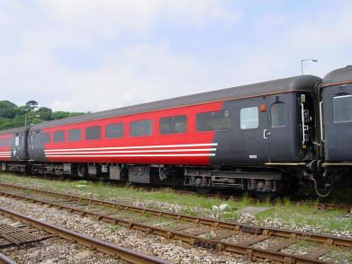 Charter train - Standard Class Carriage, exterior (UK)