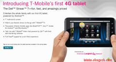 T-Mobile Dell Streak 7 Tablet