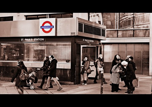 The Tube Iconic Moments St Paul S Tube Station