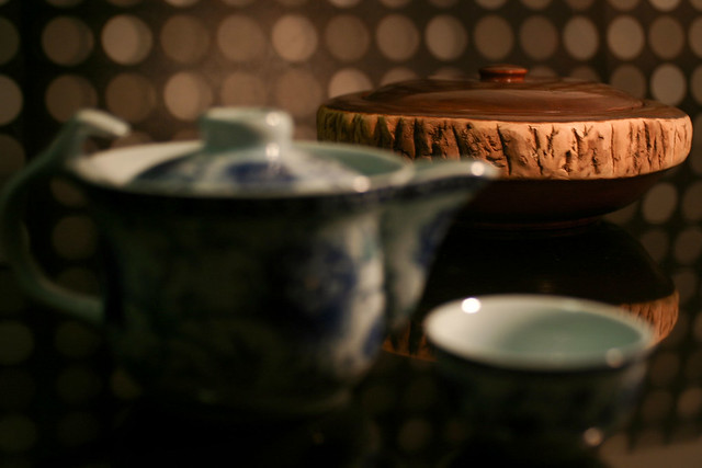 Chinese Tea Time by Yuri Hayashi, on Flickr