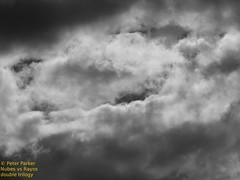 the trilogy of clouds part 1 (Mex::::::Gabriel:::Parker::::::Arg. 2016 images) Tags: bw color clouds nubes trilogias trilogys nubescontrarayosdeluz