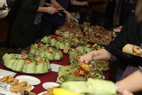 Blissfully Delicious Wrap Table
