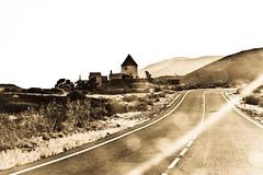 Molino ( Angeles Antolin ) Tags: road mountains de atardecer andaluca cabo camino carretera angeles molino gata almera lanscape antolin