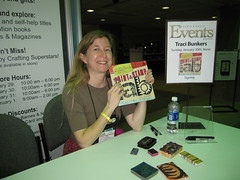 CHA Day 3: Traci's Book Signing!