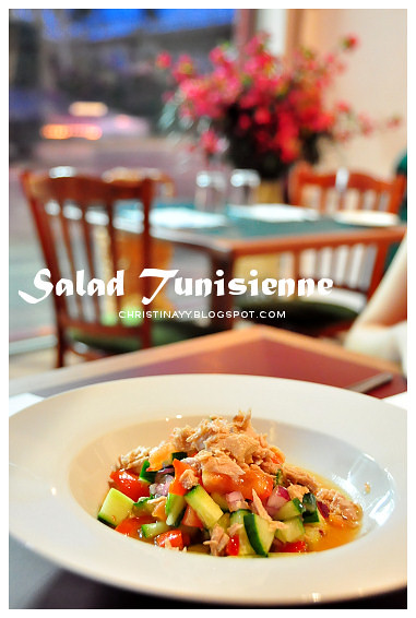 La Kasbah Brisbane: Tunisian French Arabic North African Restaurant - Salad Tunisienne