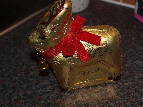 Lindt Chocolate Reindeer