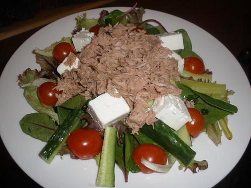 Tuna & feta salad