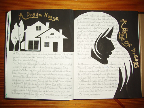 February Journaling Challenge, Day-08: Dream House Or A House Of Dreams.