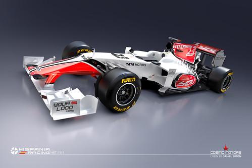HRT F111 Design