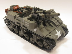 "M7B1 Priest ""Heavy Hitter"" (updated) (""Rumrunner"") Tags: tank lego wwii american ww2 priest armour worldwar2 allies howitzer m7b1"