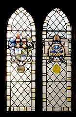 Cracroft-Amcotts commemorative window,  St Michael and All Angels, Hackthorn, Lincolnshire (Lincolnian (Brian)) Tags: eng